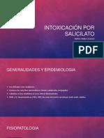 Intoxicación por salicilato