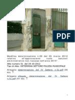 Copia di COMANDANTE V.U. CORTE DEI CONTI DOTTORE CROCE ANTONINO Modifica det  09 5 3 12  appr  ruolo sanzioni  non  riscosse  2010.pdf