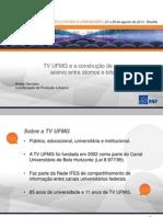 TV UFMG e a construção de um acervo entre átomos e bits