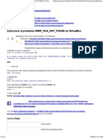 Solucionar el problema VERR_FILE_NOT_FOUND en VirtualBox.pdf