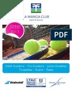 La Manga Club Tennis English 2013 Email