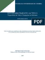 Trajectórias de Vida e Ocupações na Reforma