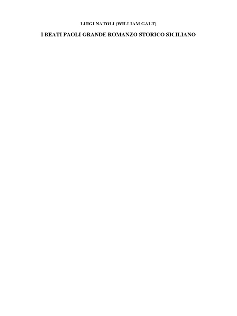 I Beati Paoli di Luigi Natoli (William Galt) fcc0fe066f5e