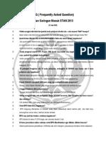 FAQ USM 2013