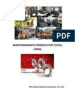 TPM - Mantenimiento Autónomo