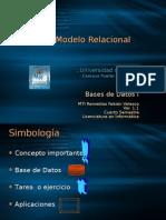 Bases de Datos I. Tema III. Modelo Relacional