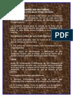 Los Actos Bajo Firma Privada.