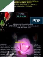 248 PAGO, EXPOSICIÓN, OFICIAL, PARA ENVÍO