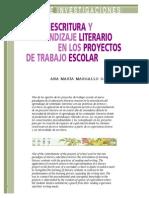 MARGALLO Lectura Escritura en Proyectos de Trabajo Escolar