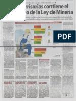 Multas irrisorias contiene el reglamento de la Ley de Mineria 1.pdf