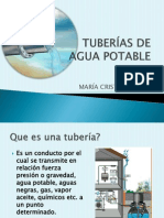 TUBERIAS DE AGUA POTABLE.pptx