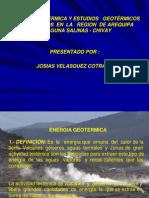 Energia Geotermica en Arequipa