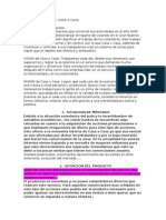 Modelo Plan de Marketing Casaxcasa