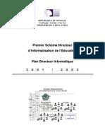 Plan Directeur Informatique PDI
