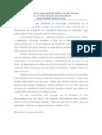 Mensaje UNICA Ante El Fallecimiento Del Presidente Editado