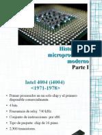 1.2.2 Historia de Los Microprocesadores 1