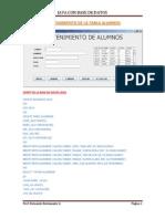 Mantenimiento de La Tabla_Alumnos