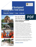 tourism and development ethnographic field school