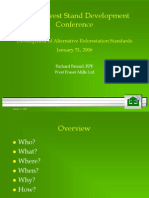 FGYA 2006 01 Prsnttn PostHarvestStandDevConference DevelopmentofAlternativeReforestationStandards