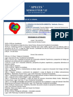 APECES - Newsletter N 12. 4-9.11.2013