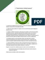 PROYECTO 2013-2014 Veterinaria Unida Avanza
