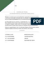 COMUNCADO TRICEL 03.11