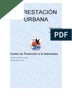 Forestacion Urbana Actividades