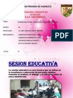 Sesion Educativa - Entrevista- Visita Domiciliaria