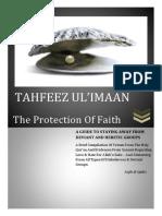 Tahfee'zul Emaan [English]
