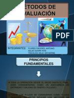 METODOS  DE EVALUACIÓN FINANCIERA