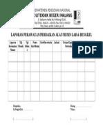 laporan+Perawatan+Perbaikan+Alat+Mesin+Lab+Bengkel.doc