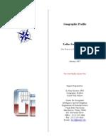 Zodiac Killer geographic profile by Kim Rossmo, Ph.D.