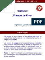 Cap. 3 Fuentes de Error