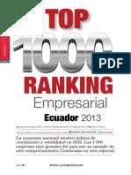 Ranking 1000 Empresas Ecuadpr