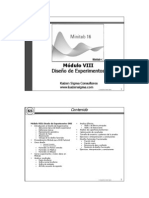 Minitab 16 Español Modulo VIII DOE Rev b