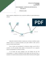 Practica 1. Configuracion de Rutas Estaticas