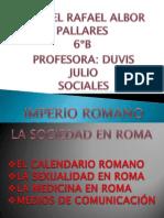 GABRIEL PRESENTACIÓN IMPERIO ROMANO