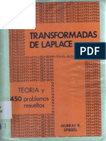 Transformadas de Laplace - Murray Spiegel