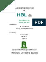 Report on HBL.pdf