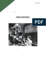 Breve Historia de Sistemas de Control