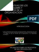 Expectativas de Los Stakeholders y Objetivos de La