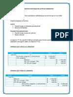 Tratamientos Contables de Activos Corrientes