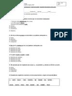 Evaluacion 5 Elementos Gramaticales