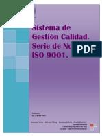Sistema Gestion Calidad Serie Normas Iso 9001