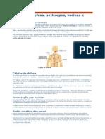 Sistema imunitário defesas