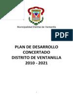 Plan de Desarrollo Concertado Ventanilla