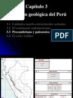 3.3 EVOLUCIÓN GEOLÓGICA PERÚ PALEOZOICO