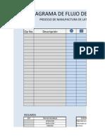 Trabajo en Clase No. 1 Diagrama de Flujo de Proceso