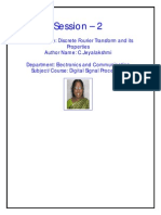 Discrete Fourier Transform and Its Properties_C.Jeyalakshmi_Trichy Engineering College_S2.pdf