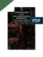 assoun, paul laurent - introducción a la metapsicología freudiana